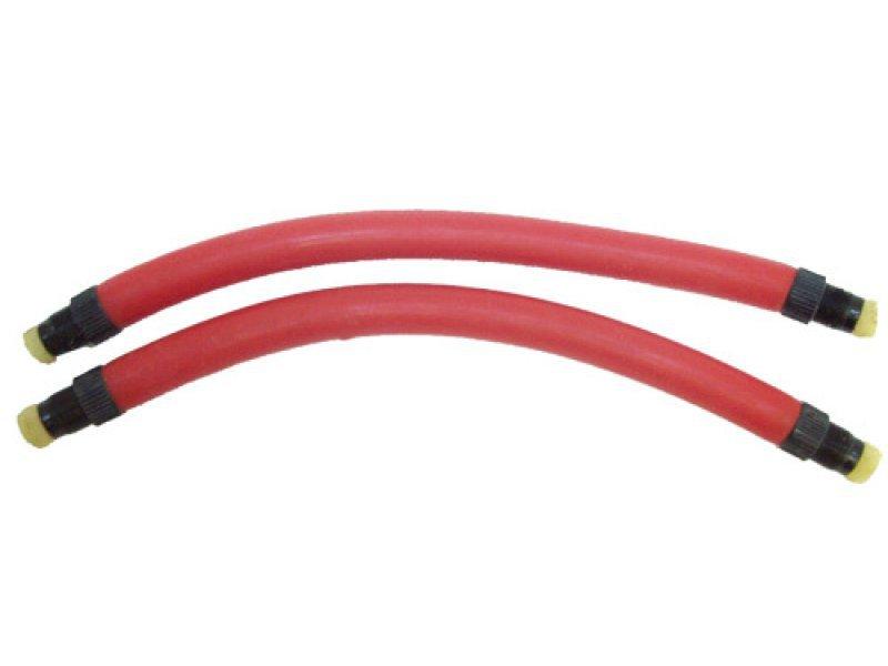 Тяги латекс imersion красные d 14 мм,  (парные) длина 22 см