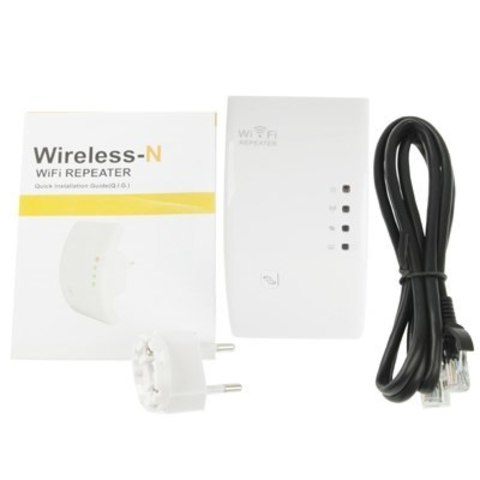 Удлинитель-усилитель WiFi 802.11n 300Mbps