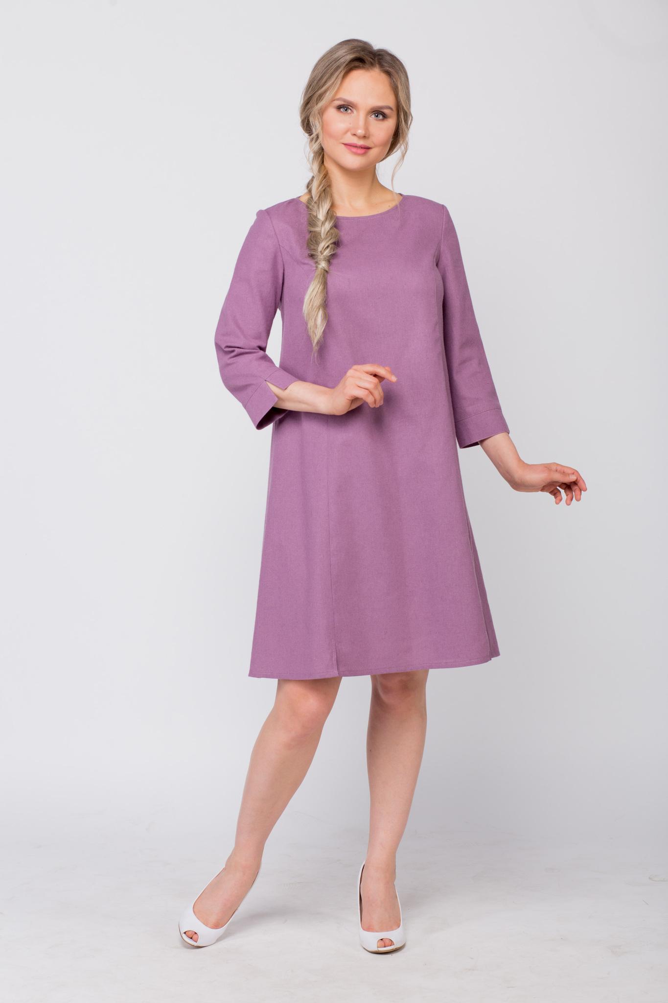 Платье льняное Лаванда купить