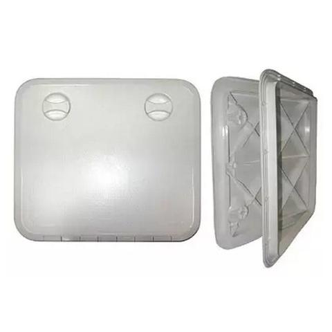Крышка рундука 360х600, пластик, белая