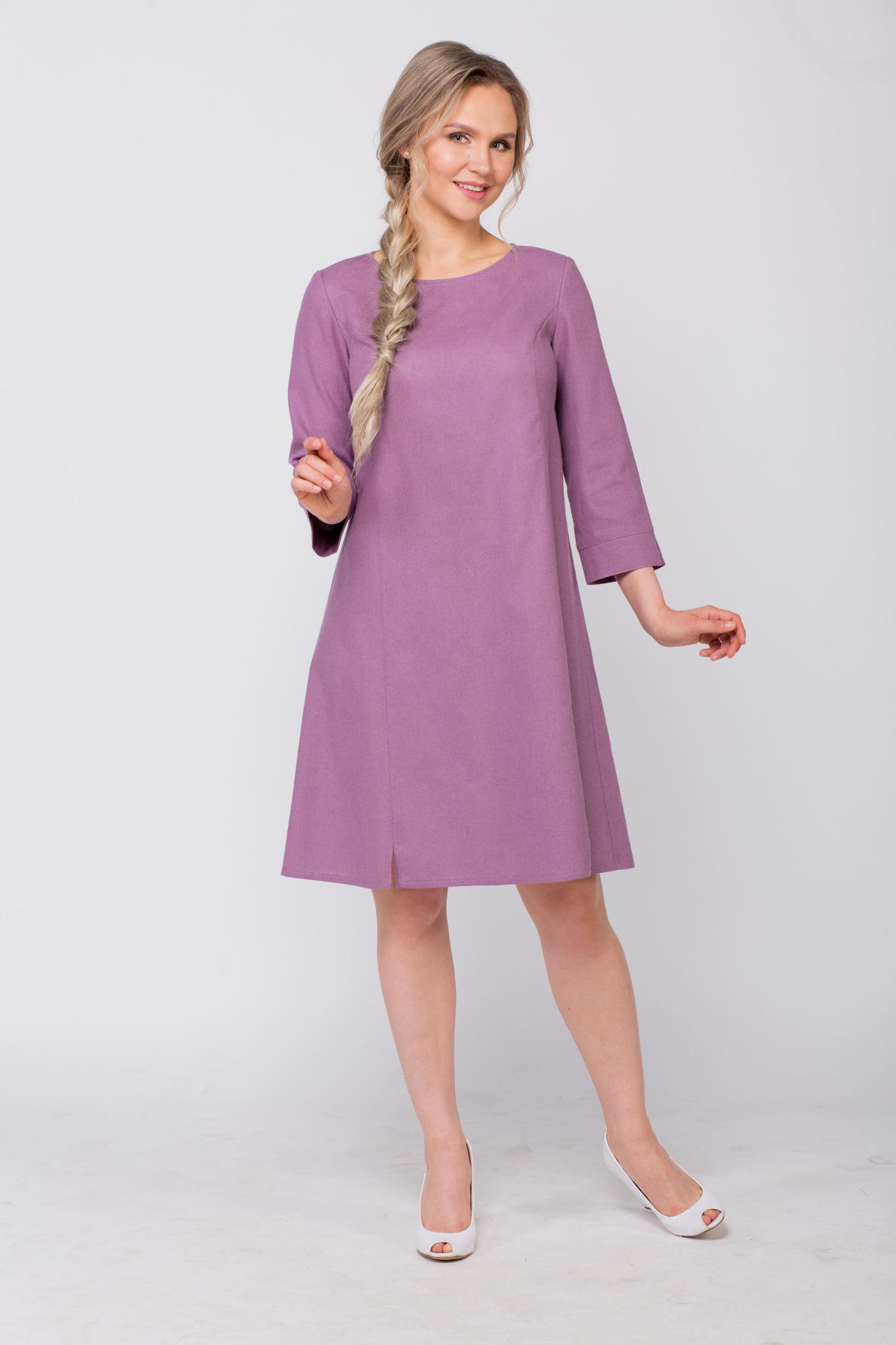 Платье льняное Лаванда от Иванки