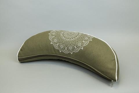 Подушка-полумесяц для йоги Indi 38*15 см