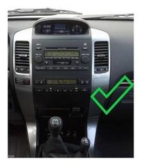 Магнитола Toyota Land Cruiser Prado 120 Android 9.0 4/64GB IPS DSP модель ZF-1116-L-DSP стиль Tesla