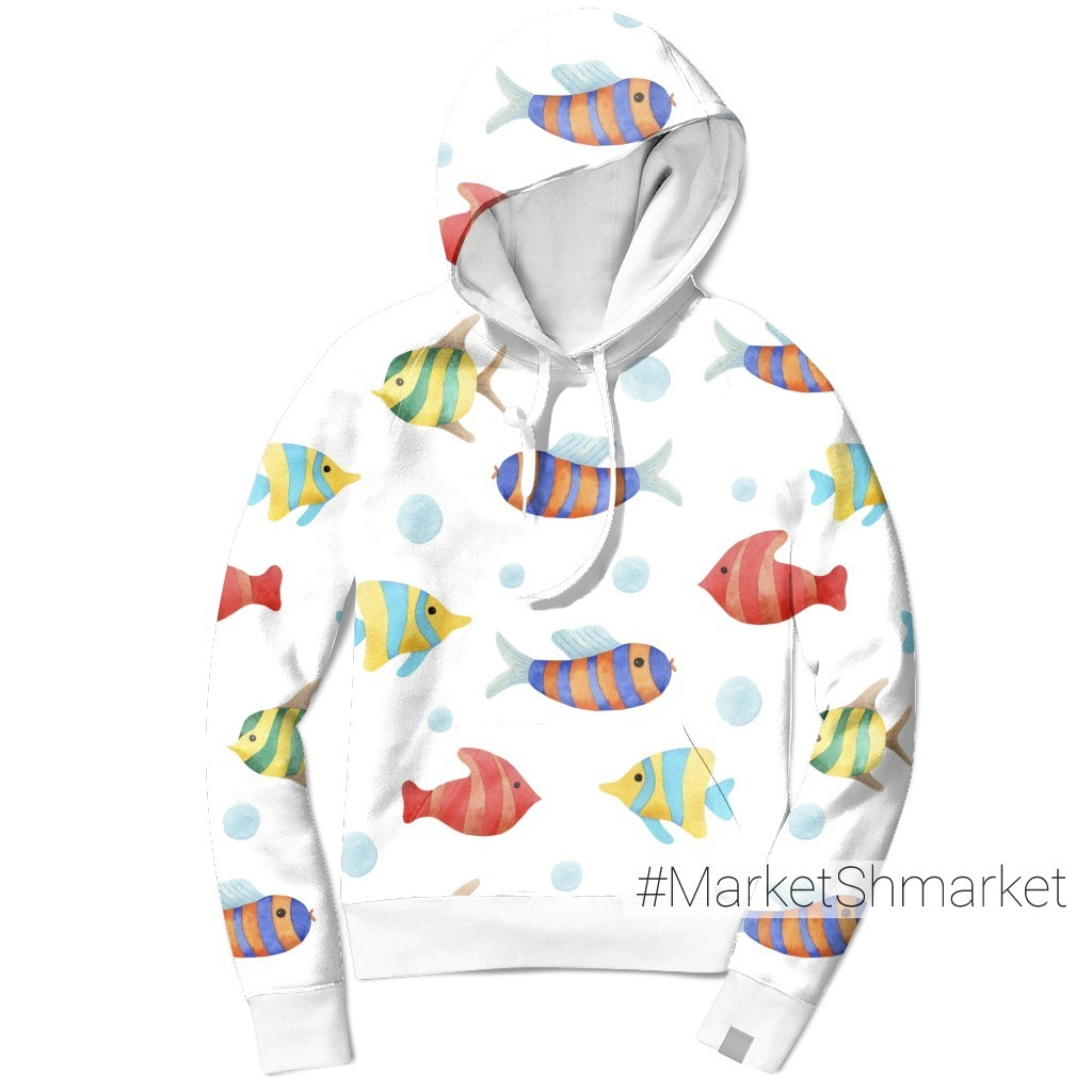 Разноцветные рыбки