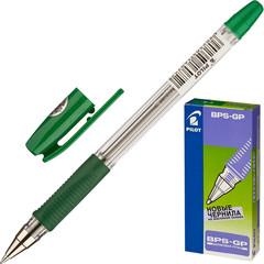 Ручка шариковая Pilot BPS-GP-F зеленая (толщина линии 0.3 мм)