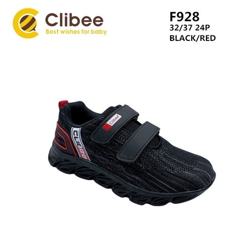 Clibee F928 Black/Red 32-37