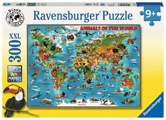 Puzzle Animals of the World 300 pcs