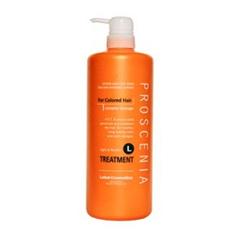 Маска для окрашенных и химически завитых волос PROSCENIA TREATMENT L 980 мл