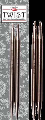 ChiaoGoo Спицы ультратонкие съемные металл 10 и 13 см Mini