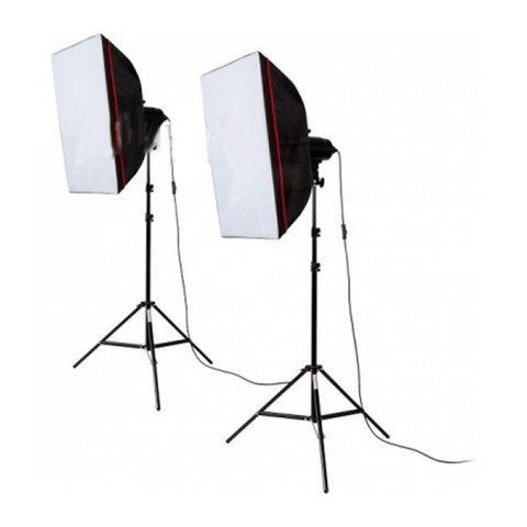 Студийный свет Fancier FAN102 Twin softbox kit