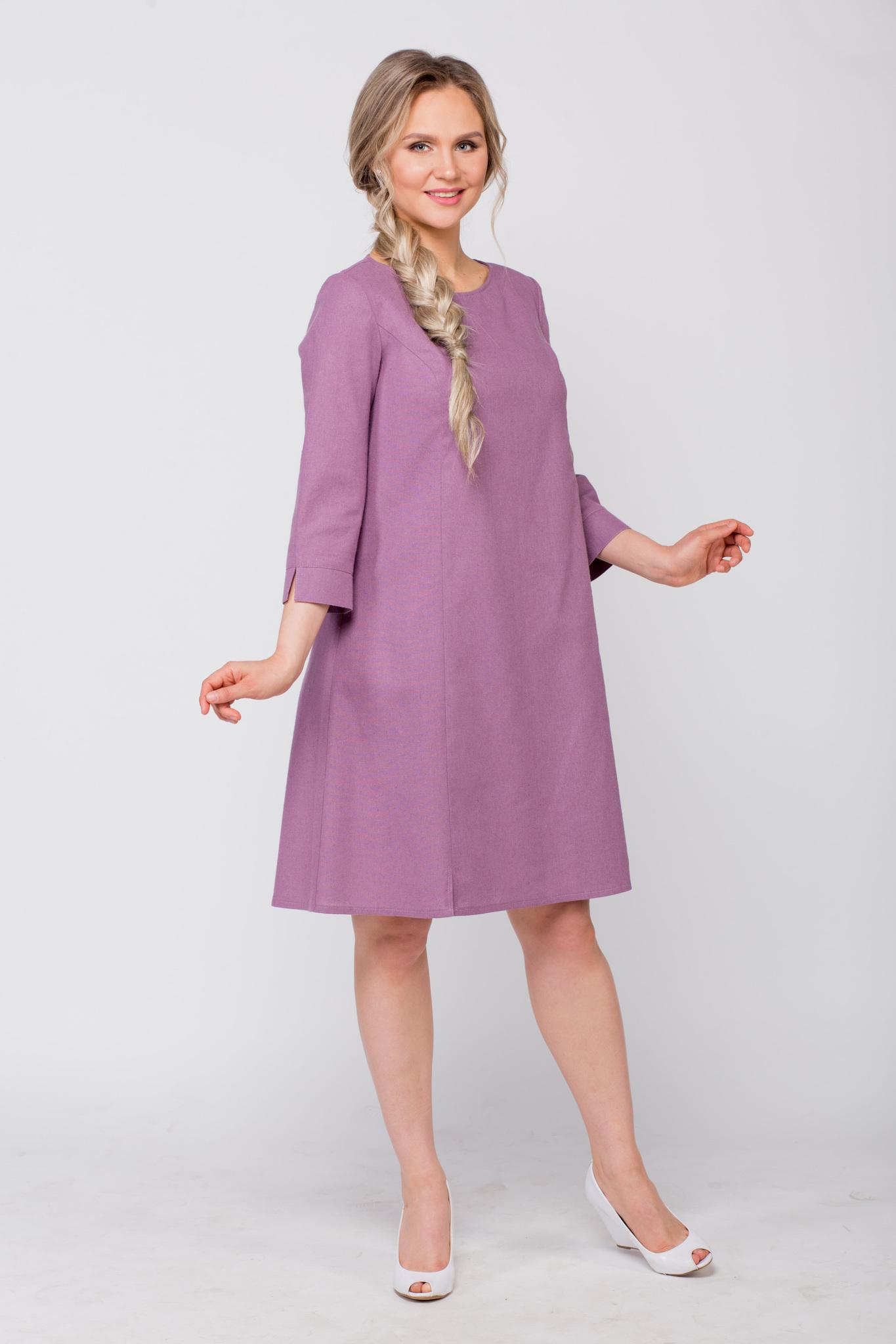 Платье льняное Лаванда купить в интернет-магазине