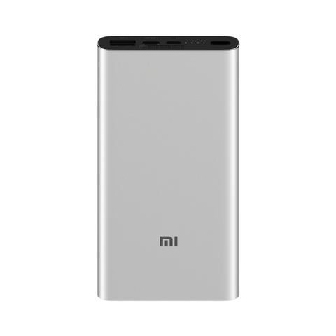 Аккумулятор Xiaomi Mi Power Bank 3 10000 (PLM12ZM) серебристый