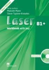 Laser 3ed B1+ Workbook with key & CD Pack
