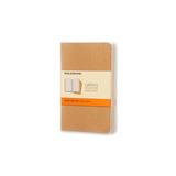 Блокнот Moleskine Cahier Pocket бежевый (QP411)