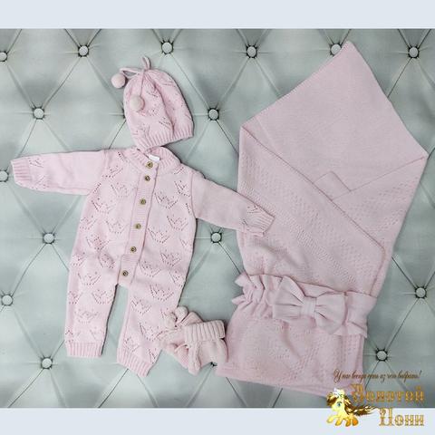 Комплект новорожденному 5 предм ЛЕТО (0-6) 210604-NV11109