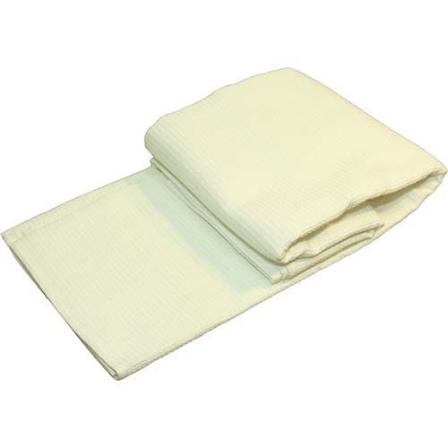 Полотенце вафельное, 150 х 80 см белое