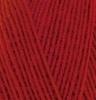 Пряжа Alize Lanagold 800 56  (Красный)