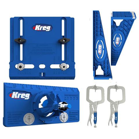 Набор для установки мебельной фурнитуры KHI-HINGE-INT, KHI-PULL-INT, KHI-SLIDE-INT и KHC-MICRO-2шт