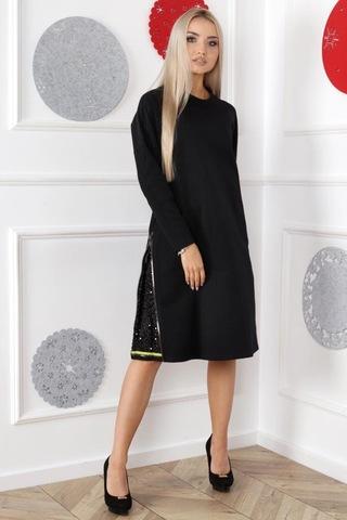 Платье Alekssandra 3287 Кама молния однотон