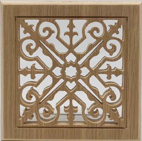 Решетка декоративная деревянная на магнитах Пересвет К-13 200х200мм