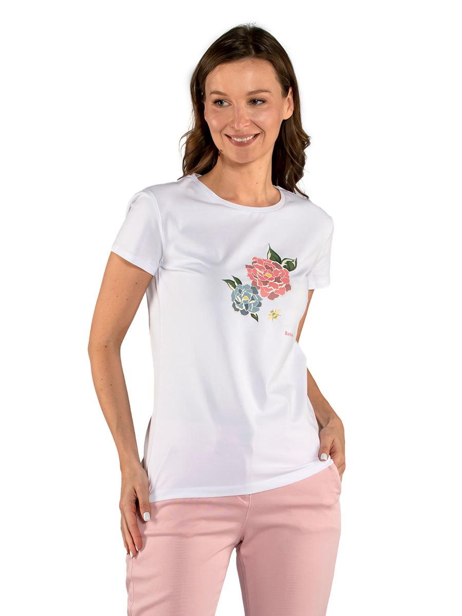Barbour футболка Newbury Tee LTS0480/WH11