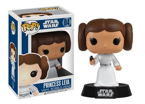 Фигурка Funko POP! Bobble: Star Wars: Princess Leia  2319