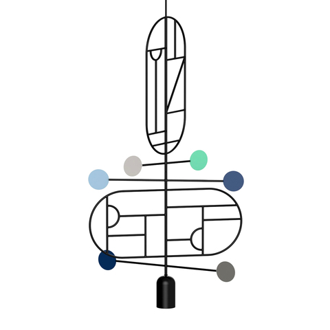 Подвесной светильник копия Lines & Dots LDS13 by Home Adventures