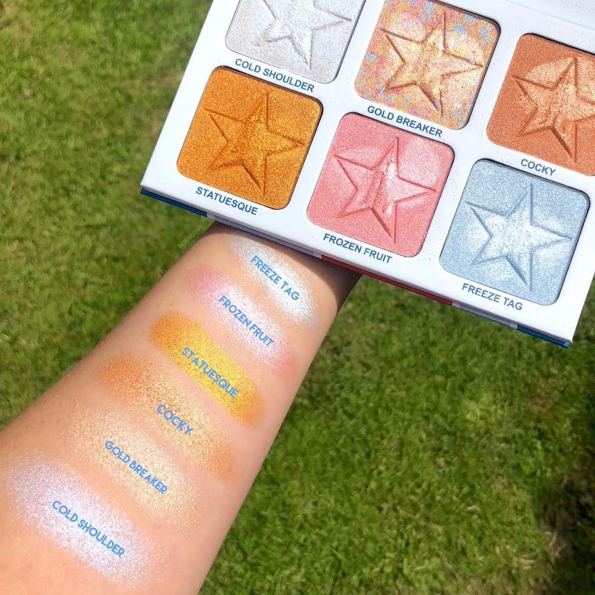 Jeffree Star Brainfreeze Pro Palette