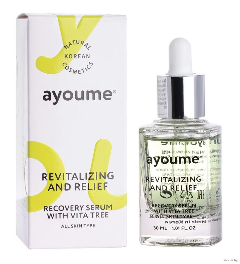 Хиты продаж Сыворотка для лица AYOUME Vita Tree Revitalizing-&-Relief serum 30 мл 101022922_0.jpg