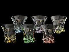 Набор из 6 цветных стаканов для виски Gradient, фото 3