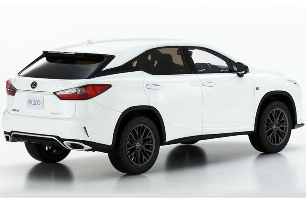Коллекционная модель LEXUS RX-200T F SPORT 2018 WHITE