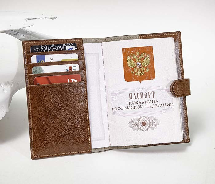 BC222-2 Обложка для паспорта и карточек «Berger»