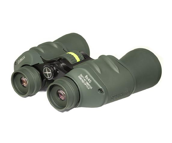 Бинокль Sturman 8x40 зелёный - фото 2