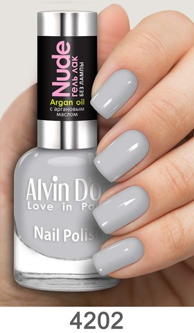 Alvin D`or Лак для ногтей Гель NUDE  тон 4202