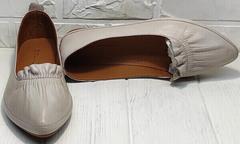 Удобные красивые туфли летние женские Wollen G036-1-1545-297 Vision.