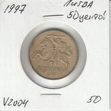 V2004 1997 Литва 50 центов