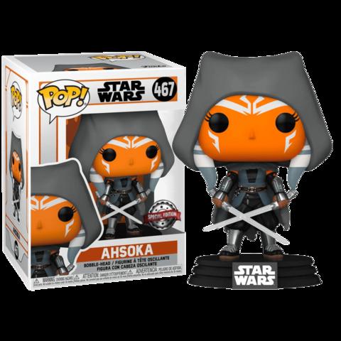Ahsoka (hooded) (Exc) (467) Star Wars Funko Pop! || Асока