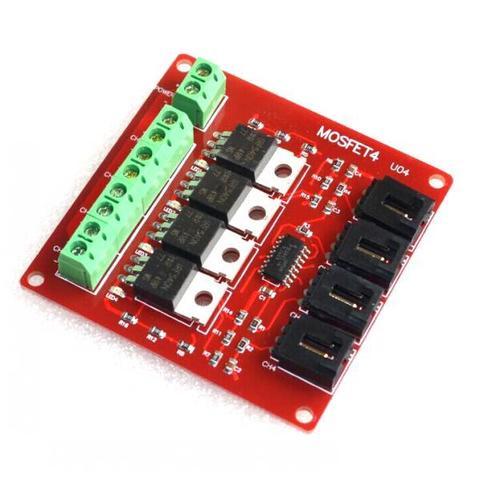 4-канальный модуль MOSFET