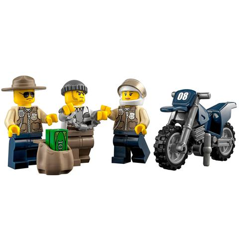 LEGO City: Участок новой Лесной Полиции 60069 — Swamp Police Station — Лего Сити Город