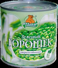 """Зеленый горошек """"Медведь любимый"""" 212 мл"""