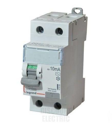 Выключатель дифференционного тока УЗО ВДТ DX-ID - 2П - 230 В~ - 16 А - тип AC - 10 мА - 2 модуля. Legrand (Легранд). 411500