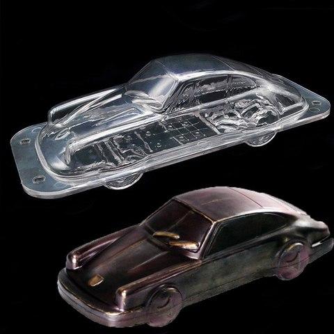 ПОЛИКАРБОНАТНАЯ форма для шоколада 3D МАШИНА Порше 22см