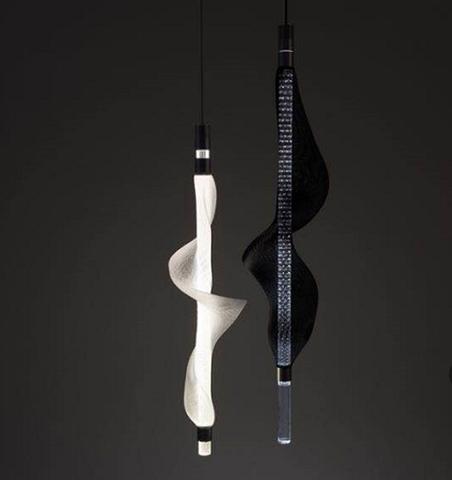 Подвесной светильник копия Vapour Light vertical ( L ) by Tuttobene