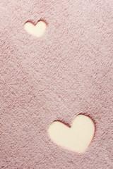 Плед с рукавами Gekoko «Сердца» неоновый 5