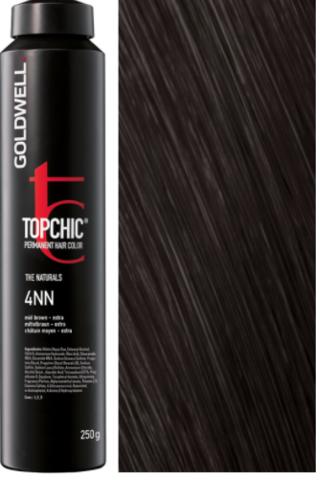 Goldwell Topchic 4NN средне-коричневый - экстра TC 250ml