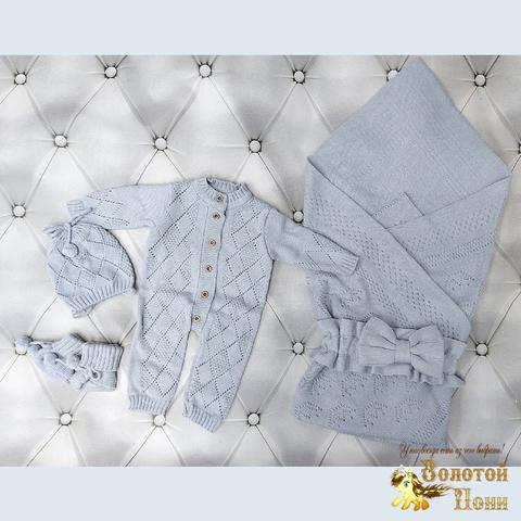 Комплект новорожденному 5 предм ЛЕТО (0-6) 210604-NV11111