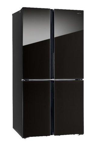 Холодильник HIBERG RFQ-500DX NFGB