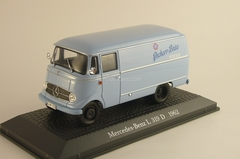 Mercedes L319D 1962 light blue Atlas 1:43
