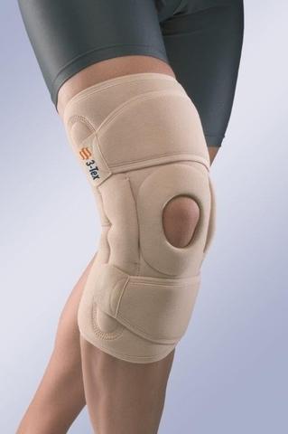 Окутывающий коленный бандаж с полицентрическими шарнирами 6120