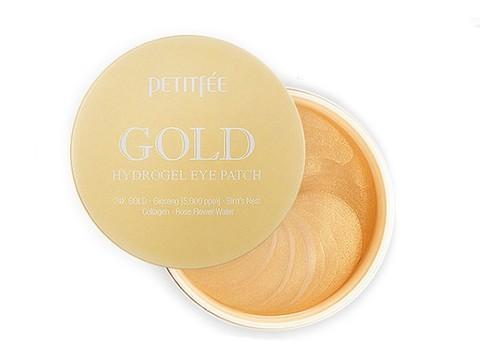 Гидрогелевые патчи для век с золотым комплексом Petitfee Gold Hydrogel Eye Patch